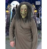 Masker Heks met pruik