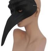 Snavelmasker zwart venetie