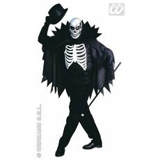 Scary skeleton kostuum volwassen