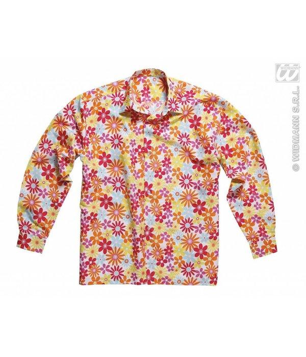 Hippie blouse met bloemen
