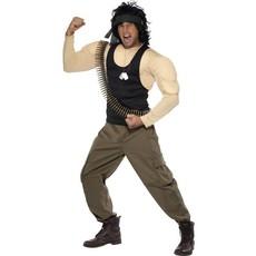 Rambo verkleedkostuum heren