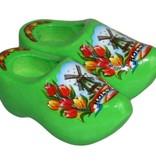Magneetklompen molen/tulp groen