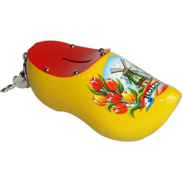 Klomp spaarpot geel