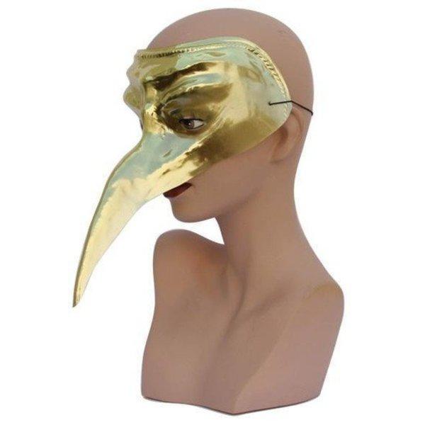 Snavelmasker Venetie goud
