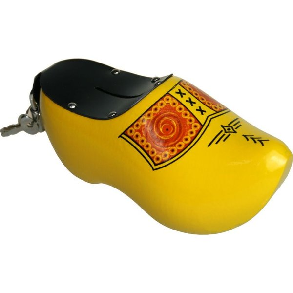 Klomp spaarpot geel klomp