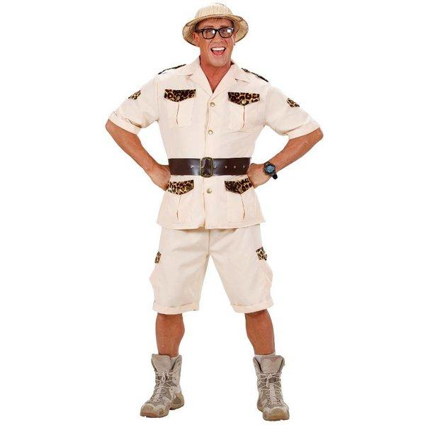 Safari verkleedpak man
