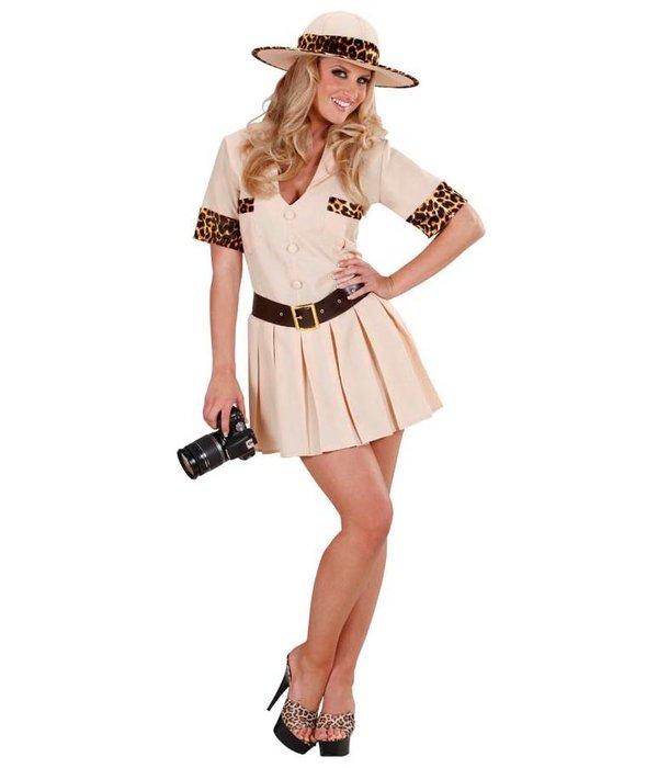 Safari meisje kostuum