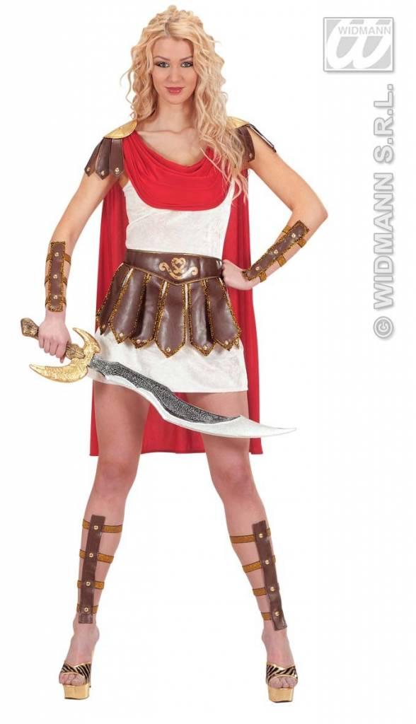 Gladiator krijger prinses kostuum