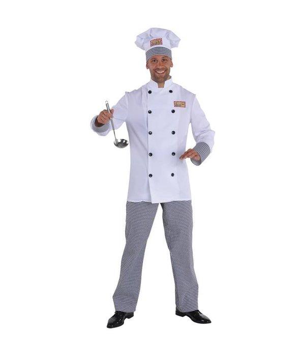 Chef kok kostuum Herman Elite