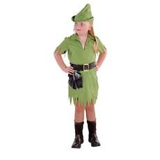Robin Hood meisje kostuum Elite
