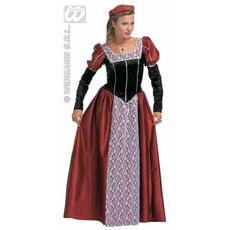 Middeleeuwse Kasteelvrouw kostuum