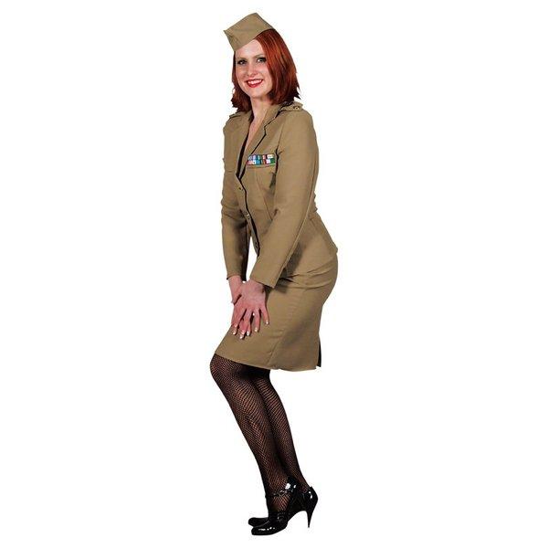 Officiers 1940 kostuum vrouw