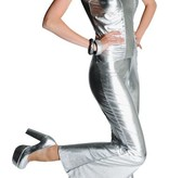 Catsuit stretch zilver elite