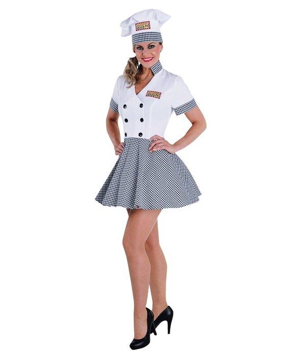 Lady chef kostuum elite