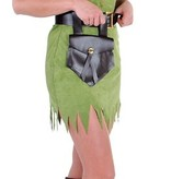 Robin Hood meisje kostuum elite groen