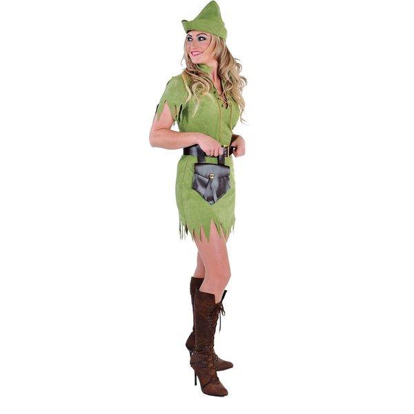 Robin meisje kostuum elite groen