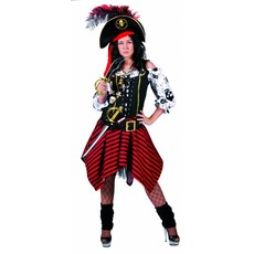 Piratenjurk Skullheads 2 delig