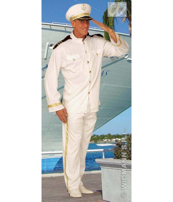 Kapitein love boat kostuum