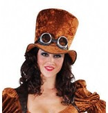 Hoge hoed Steampunk elite
