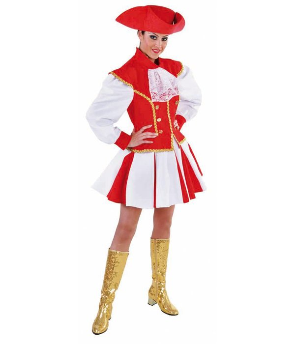 Dansmarieke jurk elite rood
