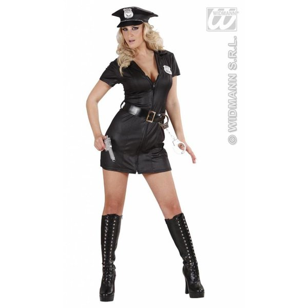 Politiemeisje kostuum