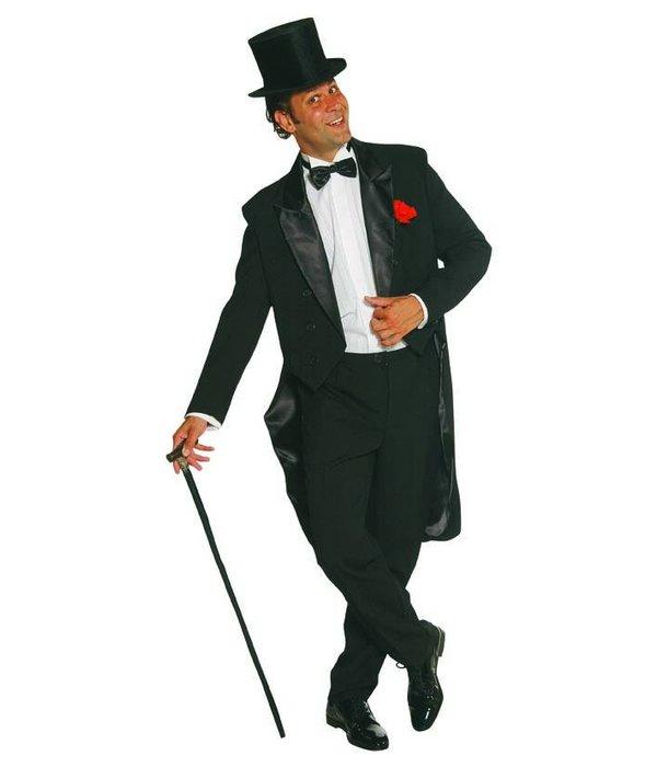 Cabaret kostuum elite zwart