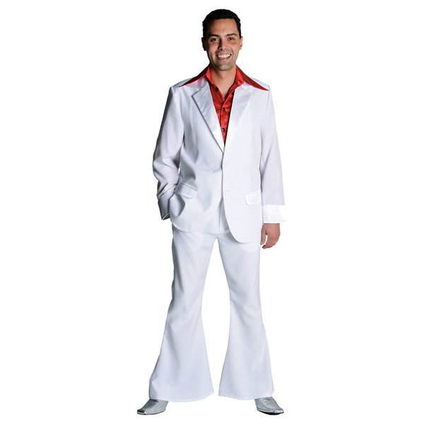 Toppers kleding kostuum wit