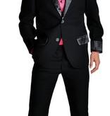 Gala chique kostuum zwart