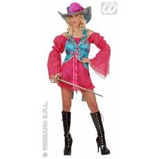 Dames Musketier kostuum