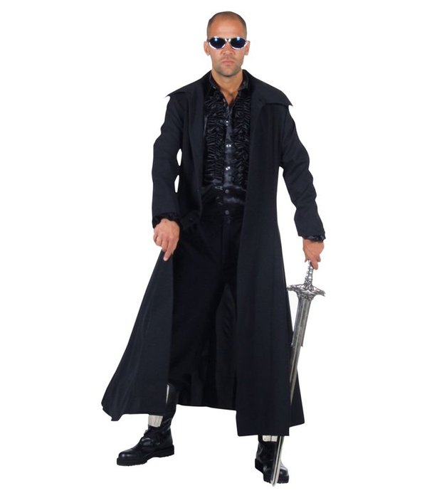 Zwarte mantel elite