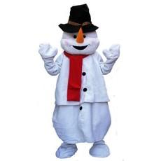 Sneeuwman kostuum big pluche