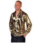 Blouse metallic goud elite