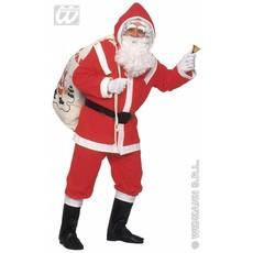 Kostuum kerstman flannel