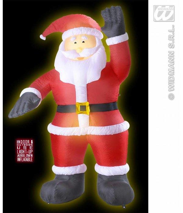 Opblaasbare kerstman 244cm, gebruik binnen en buiten