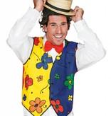 Gilet clown bloem