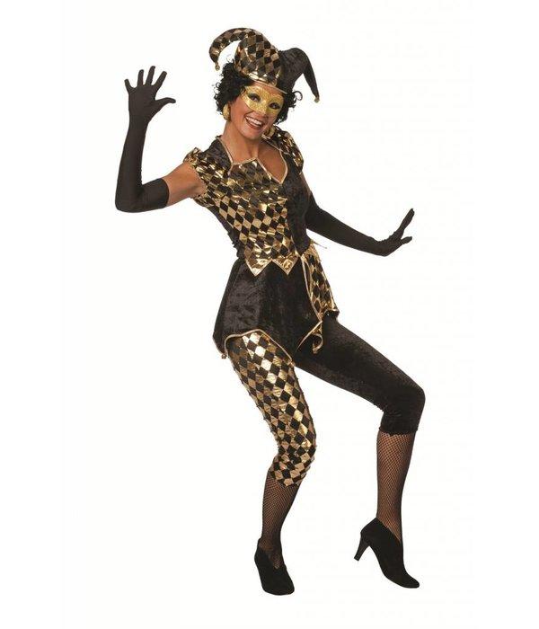 Domino kostuum dames