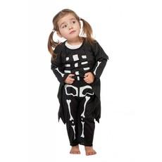 Skelet verkleedpakje kind