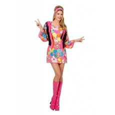 Hippy Woodstock dame