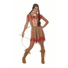 Indiaanse Minehaha verkleedjurk