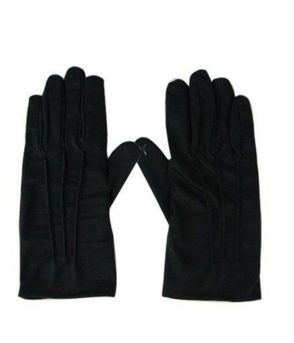Handschoen zwart kort