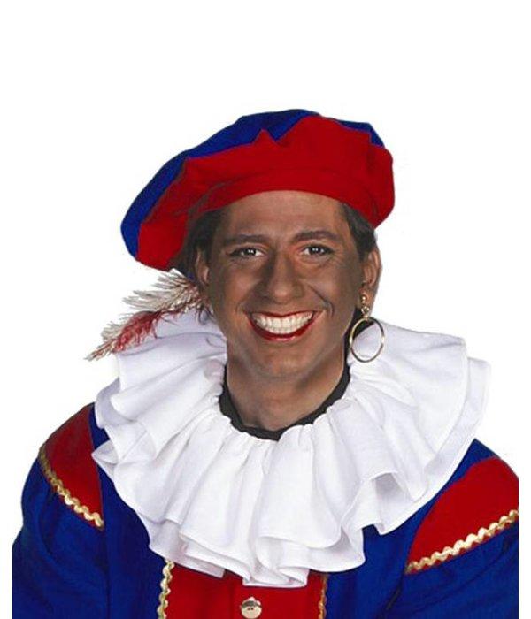 Kraag Piet bistretch wit