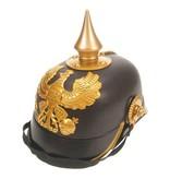 Helm keizer zwart-goud
