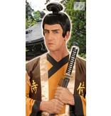 Pruik Samurai kort