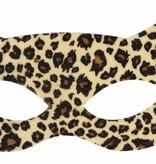 Oogmasker luipaard soft