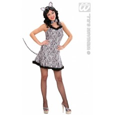 Sexy zebra kostuum