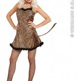 Sexy Luipaard jurk