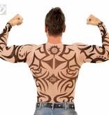 Tattoo shirt man