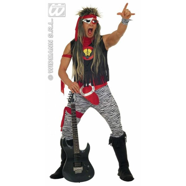 Rockster 80's kostuum