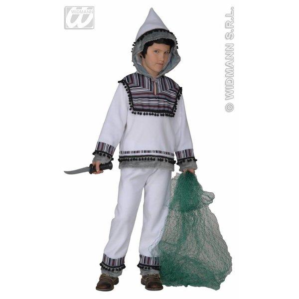 Eskimo kostuum satijn jongen/meisje