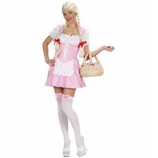 Miss Muffet kostuum roze